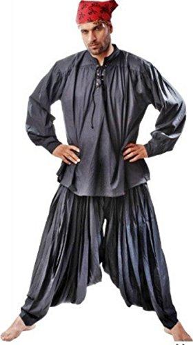 Grace O' Malley Piraten/Mittelalter Set - Black, Grösse:XL (Grace O'malley Kostüm)