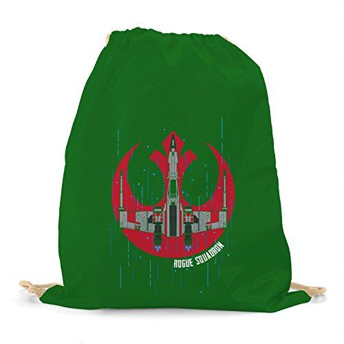 Squadron - Turnbeutel, dunkelgrün (Luke Skywalker Hoth Kostüm)