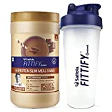 Saffola FITTIFY Gourmet Hi-Protein Slim Meal Shake - Swiss Chocolate, 420 gm, 12