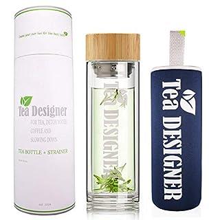 Glasflasche 1 Liter Mit Sieb Dein Burobedarf De