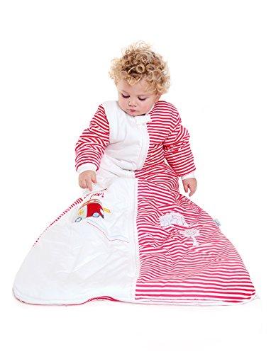 Slumbersac Winter Baby Sleeping Bag Long Sleeves 3.5 Tog - Fire Engine, 0-6 months/70cm