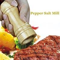 KANTHI Wooden Manual Salt Pepper Grinder Mill / Wooden Salt & Pepper Grinder