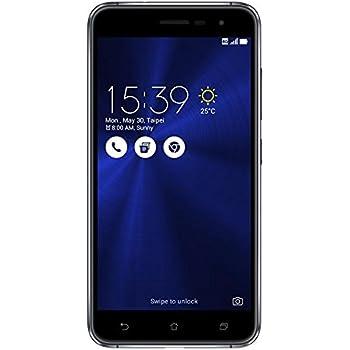 ASUS ZenFone 3 64GB 4G Negro - Smartphone (SIM doble, Android, MicroSIM + NanoSIM, EDGE, GPRS, GSM, TD-SCDMA, UMTS, WCDMA, LTE) - (Importado)