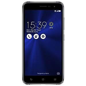 "Asus ZenFone 3 Smartphone, Dual SIM, Display da 5.2"", Memoria Interna da 64 GB, 4 GB RAM, Nero [Italia]"