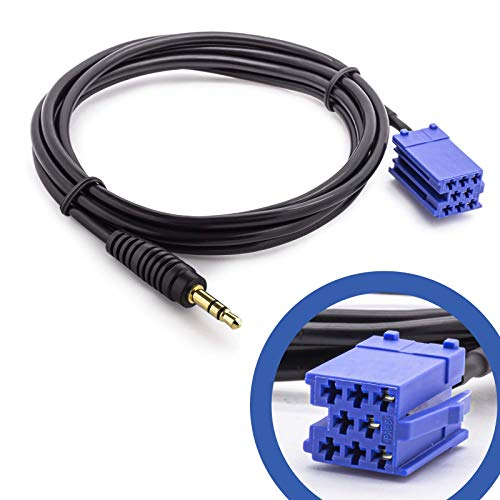 Auto KFZ PKW Becker AUX Line In Adapter Kabel für Apple iPod iPhone Mp3 Player
