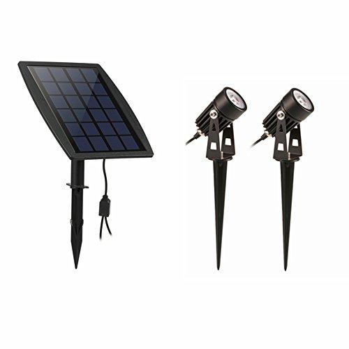 Preisvergleich Produktbild Wasserdicht IP65 Outdoor Garten LED-Solarleuchte Super Helligkeit Rasen im Garten Lampe Landschaft Scheinwerfer