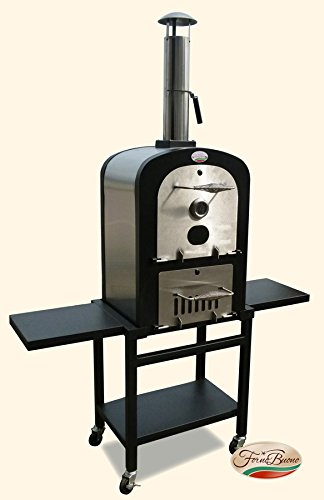 FORNO BUONO� SORRENTO OUTDOOR PATIO WOOD/ CHARCOAL FIRED Pro- PIZZA OVEN, BBQ