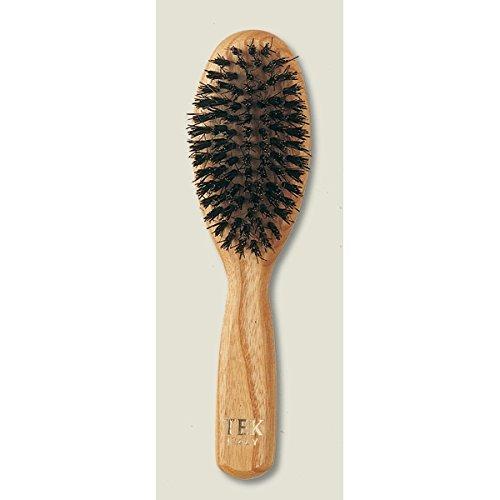 Brosse Ovale poils de sanglier - petit modèle