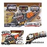 Babytintin™ 11 Pcs Toy Train Track Set For Kids