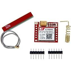 GPRS Cuatribanda GSM Sim800l Tablero de A Bordo Sim TTL con Antena para Arduino
