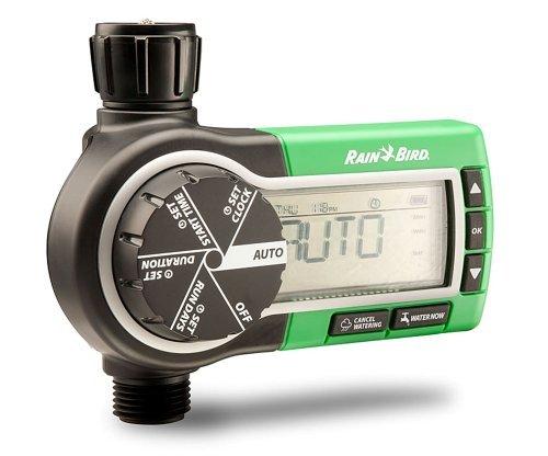 RainBird Wasserzeitschaltuhr 1 ZEHTMR, Digitaler Wasser-Timer, Steuergerät Wasserhahn-Anschluss -
