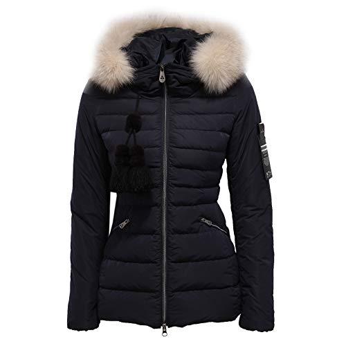 Peuterey 1685Z Piumino Donna TURMALET Real Fur Blue Jacket Woman [38]