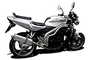Delkevic Triumph Speed Triple 955i 350mm Oval Stainless Steel Silencer Exhaust Kit KIT0477