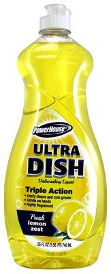 A USA Made Product PowerHouse® Ultra Dish Dishwashing Liquid