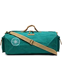 The House Of Tara Special Canvas Duffle/Gym Bag (Teal) HTD 140