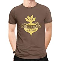 Logo Moda Camiseta para Hombre, Impresa Verano Casual Cuello Redondo tee Shirts S-5XL by WYHQL (Color : Brown, Size : XL)