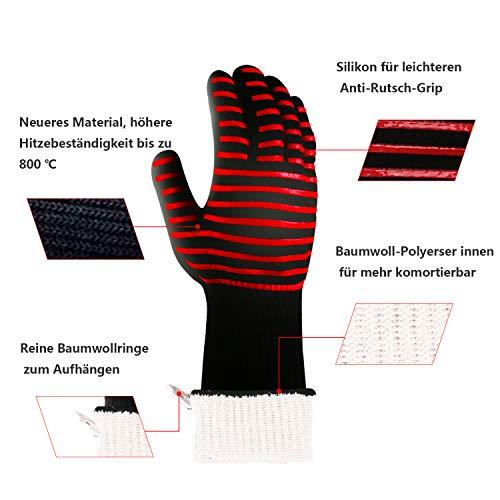Zoom IMG-3 mornex guanti da griglia extreme