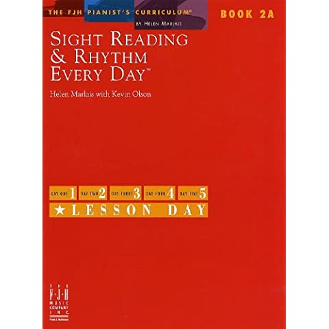 Sight Reading And Rhythm Every Day - Book 2A. For Pianoforte
