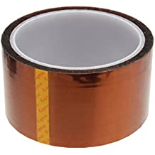 50mm 5cm x 30M Kapton Tape Sticky High-Temperature Heat Resistant Polyimide Neu