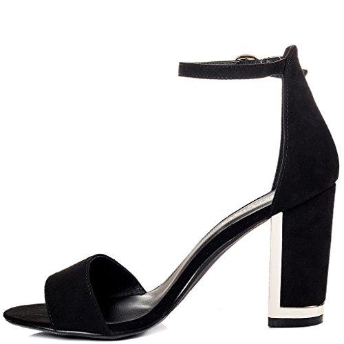 YFF Frauen Latin Tango Salsa Dance Schuhe Sneakers weichen Boden, dunkelbraun 5 cm, 9.