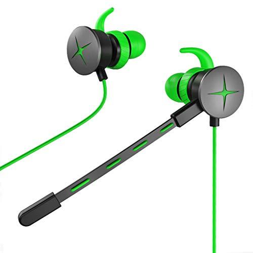Luckiests V7 3,5 mm Klinke Gaming Headsets In-Ohr-Kopfhörer Wired Einstellbare Mic Kopfhörer Dynamische Gamer Telefon PC Laptop