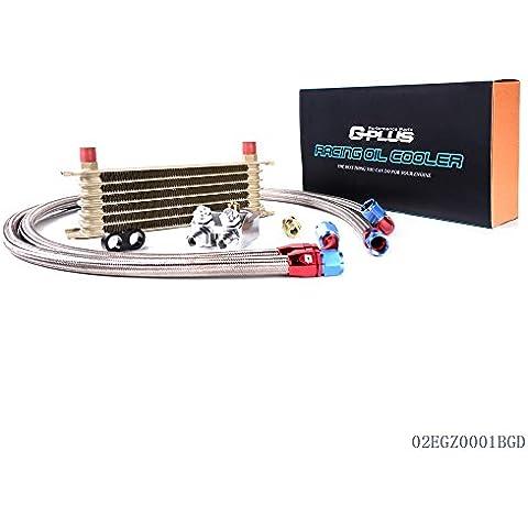 speedmotor 7fila An-10Universal Motor para aceite de transmisión Kit + filtro adaptador oro