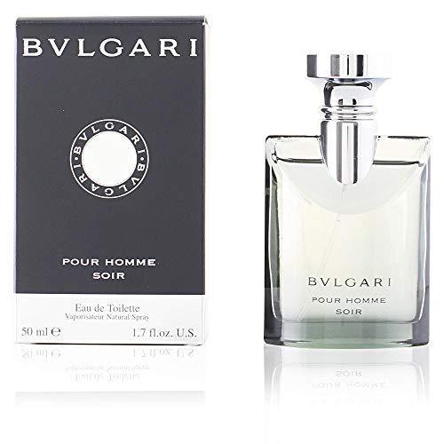 BVLGARI Homme Soir, homme/men, Eau de Toilette mit Zerstäuber, 1er Pack (1 x 100 ml) - Parfums Männer, Bulgari