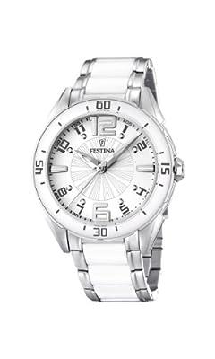 Reloj de mujer FESTINA F16395-1 de cuarzo, correa de acero inoxidable color varios colores de Festina