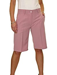 7006183c2c ICE (1492) Ladies Smart Washable Day Evening Tailored Shorts