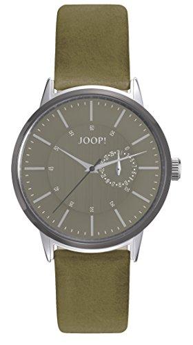 Montre Hommes Joop! Quartz - Affichage Analogique Bracelet Cuir Vert et Cadran Gris JP101921002