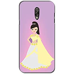 PrintVisa Designer Back Case Cover for Samsung Galaxy J7+ :: Samsung Galaxy J7 Plus (Animated Indian Bride)