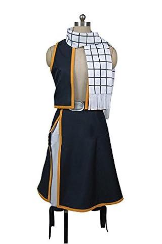 Fairy Tail Costume Natsu - Fairy Tail Natsu Dragneel Cosplay Costume Taille