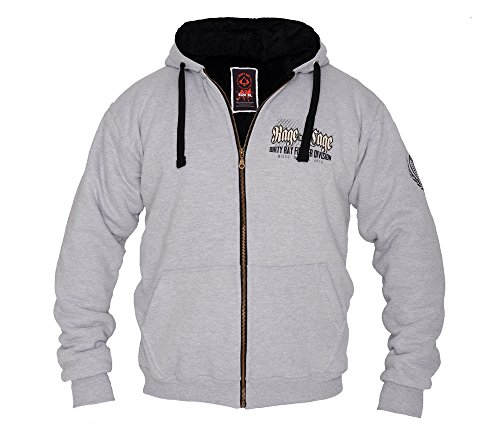 Dirty Ray MMA Rage in The Cage Sweat Homme Hivernal doublè avec Capuche BP2
