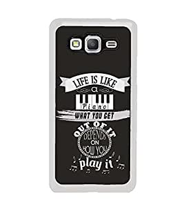 Fuson Designer Back Case Cover for Samsung Galaxy Grand Max G720 (What You get is Depend On How You Play)