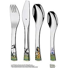 WMF 1294506040 Shaun das Schaf – Juego de cubiertos para niños – Niños Cuchara/Tenedor
