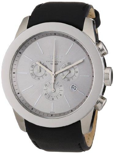 Esprit Herren-Armbanduhr Analog Leder EL900151006