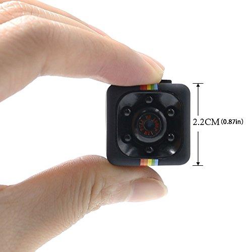 Caméra Cachée 1080P Mini Caméra Spy LXMIMI Caméra Web Portable HD Nanny avec Vision Nocturne et Détection de Mouvement pour Caméra de Surveillance de Sécurité Intérieure / Extérieure