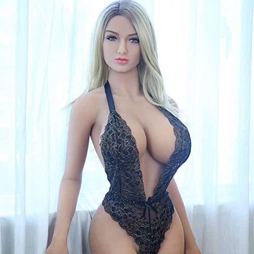 CJW Adult Sex New Supplies Muñecas sexuales de Silicona genuinas para Hombres, muñecas inflables de Silicona Femeninas, muñecas Reales, muñecas Robot sexuales, Vagina,165cm