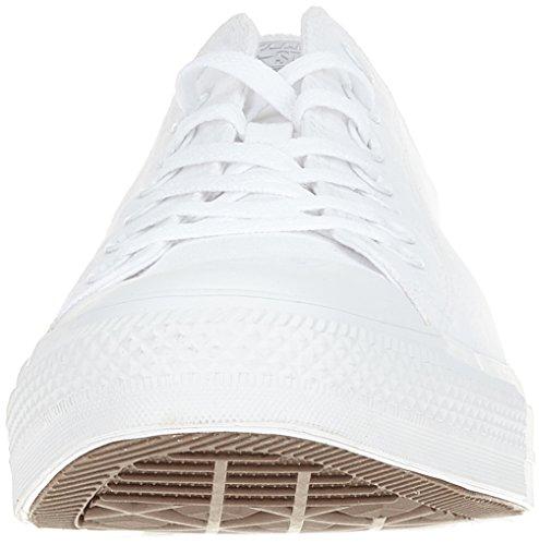Converse Chuck Taylor All Star Seasonal-Ox, Sneaker Unisex – Adulto Weiß (White Monochrome)