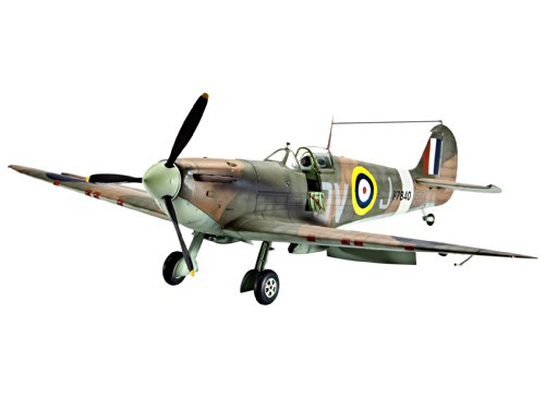 Revell Modellbausatz Flugzeug 1:32 - Supermarine SPITFIRE Mk.IIa im Maßstab 1:32, Level 5