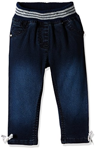 Donuts Baby Girls' Jeans (269781639 DK-BLUE 06M IN-30)
