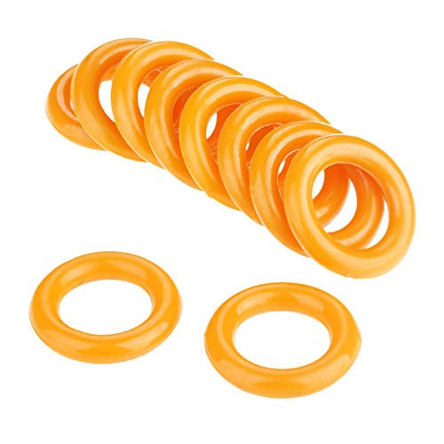 Hicello 2Pcs 35mm*20mm Industrielle Nähmaschine Computer Car Flat Sewing Machine Bobbin Winder Rubber Ring -