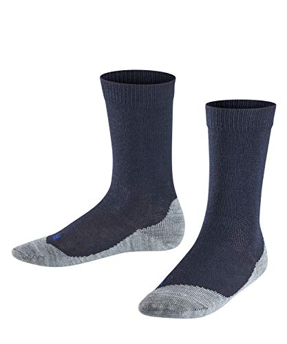 FALKE Kinder Active Sunny Days K SO Socken, Blau (Darkmarine 6170), 31-34