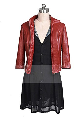 Avengers: Age of Ultron Movie Scarlet Witch Cosplay Kostüm Damen S