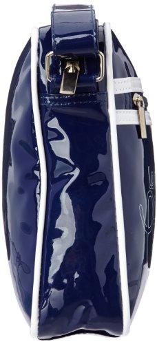 Le Temps des Cerises Rumba Bi-Color 13, Borsa a tracolla donna multicolore (Multicolore (2T00 Bleu/Blanc))
