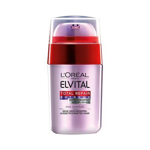 L'Oréal Paris Elvital Total Repair Extreme Doppel-Serum, 3er Pack (3 x 15 ml)