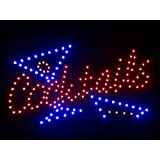 nled040-r Cocktails Bar LED Neon Light Sign (40.6cm x 25.4cm) Neonlicht Lichtwerbung
