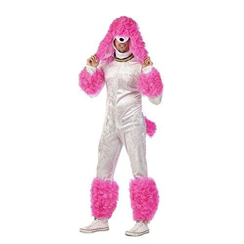 Limit-Erwachsenen Kostüm Pudel Fuxia Größe XXL, Mehrfarbig - Pudel Kostüm Für Erwachsene