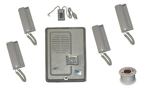 c8b-kocom 5x 5Way doorentry accès et tous les Master avec plusieurs Système Interphone audio et extérieur Panneau