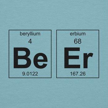 TEXLAB - Beryllium and Erbium = Beer - Damen T-Shirt Hellblau